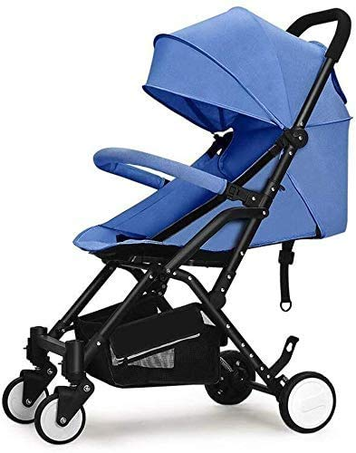 Best Price GPWDSN Pushchair Rain Cover, Baby Carriage High Landscape Can Sit Horizontal Portable Fol...