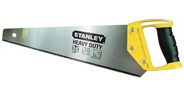 Black//Yellow Stanley 1-20-089 Hand SawOPP with 11 teeth