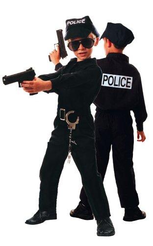 Déguisement Policier enfant 10-12 ans - Costume gendarme garçon
