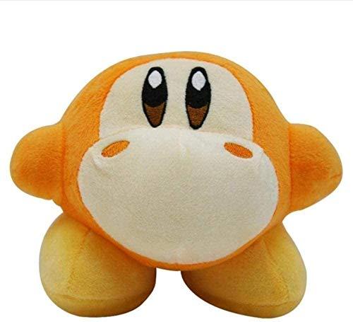 SongJX-Love Kirby Plüschtier-Spielzeug-Rosa Kirbby Waddle Dee DOO weich gefüllte Spielzeug flaumige weiche gefüllte Puppe für Kind Geburtstagsgeschenk 15 cm Gzzxw