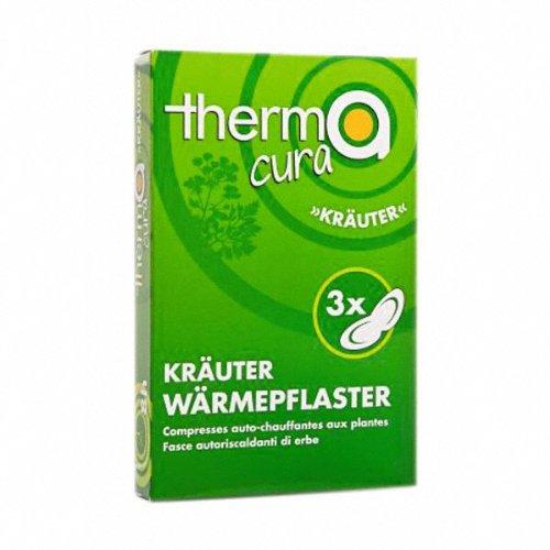 Sport-Tec Thermacura Kräuter Kräuter Wärmepflaster Kräuterpflaster Wärmetherapie 3 STK.
