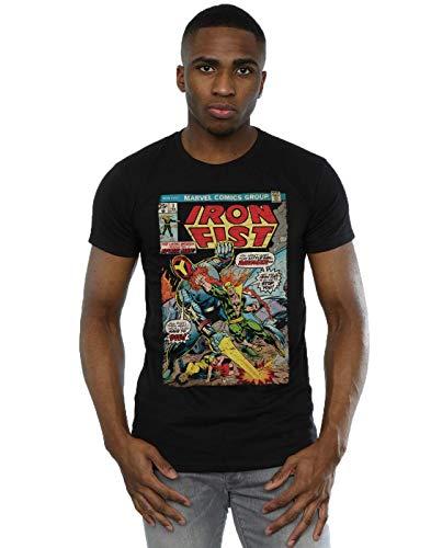 Marvel Herren Iron Fist Ravager T-Shirt Medium Schwarz