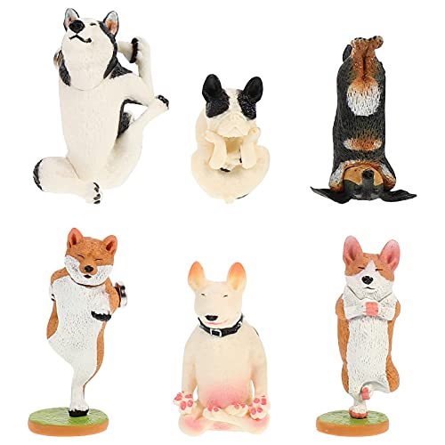 jojofuny 6 Imanes de Nevera Animales Perro 3D Juguetes Magnéticos Dibujos Animados Imanes de Nevera para Pizarra Blanca para Bebés