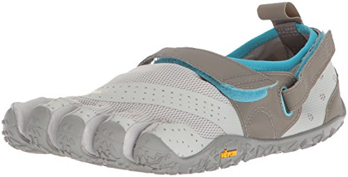 Vibram Women's V-Aqua Grey/Blue Water Shoe, 6-6.5 M B EU (36 EU/6-6.5 US)