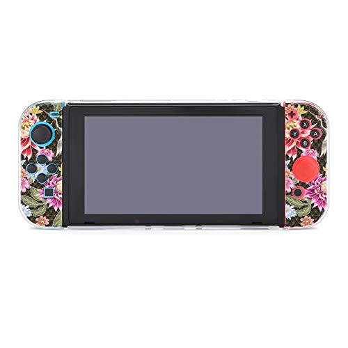 Funda para Nintendo Switch sin costuras, diseño de cinco piezas, color morado...