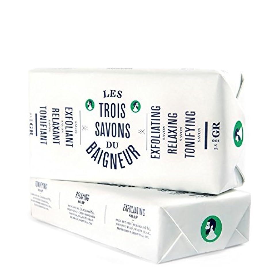 知らせるドラッグ鰐ル石鹸セット300グラム x2 - Le Baigneur Soap Set 300g (Pack of 2) [並行輸入品]