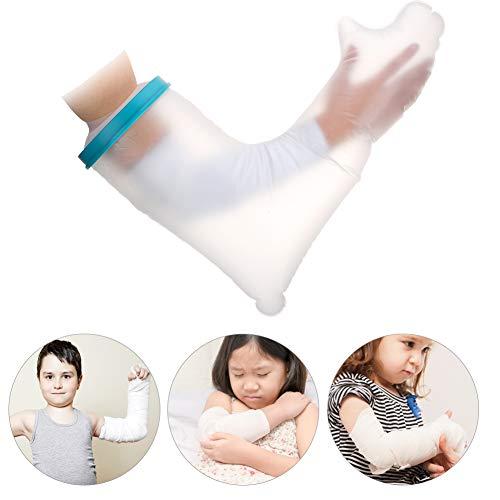 Kinderarm Cast Cover voor douchebad, waterdichte siliconen verbandbescherming, herbruikbare Cast Bag Sleeve Covers om verbanden droog te houden, voor gebroken handen en polsen