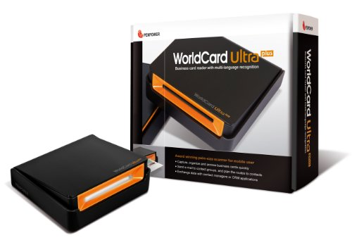 Best Prices! Penpower Portable Color Business Card Scanner WorldCard Ultra Plus