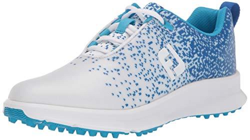 FootJoy Women's FJ Leisure Golf Shoes, Royal, 5.5 M US