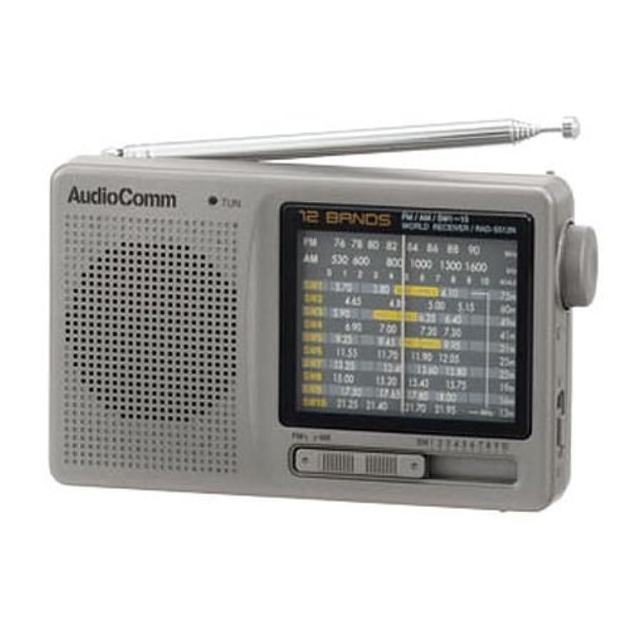 願望脱獄傷跡AudioComm 12バンド 株?競馬ハンディたんぱラジオオーディオコム RAD-S512N(07-7956)