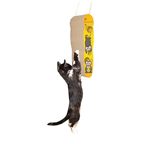 ImperialCat】インペリアルキャット猫用爪とぎ ハンギングチーズ  アメリカ製 …