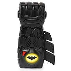 INTERACTIVE BATMAN GAUNTLET: With lights and sounds, authentic details and scallops that can be placed on the left or right, this interactive gauntlet brings the iconic BATMAN Gauntlet to life! 2 MODES OF PLAY: Play out your BATMAN adventures with 2 ...