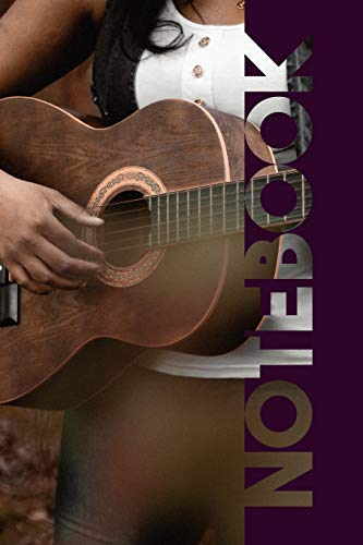 Notebook: Guitarra Acustica Gorgeous Composition Notebook for Folk Music Fans