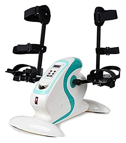 joyvio Ejercitador De Pedal Eléctrico Motorizado, Bicicleta De Ejercicios para Manos, Brazos, Rodillas Y Piernas, Mini Equipo De Rehabilitación De Ciclismo para Discapacitados