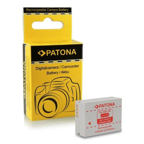 Batería NB-10L para Canon PowerShot G15 | PowerShot G1X | PowerShot SX40 HS | PowerShot SX50 HS