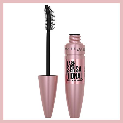 Price comparison product image Maybelline Lash Sensational Washable Mascara,  Very Black,  0.32 Fl Oz. (Packaging May Vary)