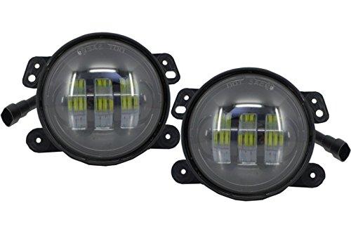 Kitt Fljewr4 C Feux de Brouillard Full LED Feux de Brouillard lumières
