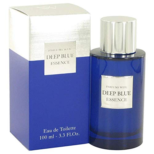 Deep Blue Essence by Weil Eau De Toilette Spray 3.3 oz / 100 ml (Men)