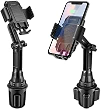 Cellet Car Cup Holder Phone Mount Cellphone Holders Adjustable for iPhone 11 11 Pro 11 Pro Max XS XS Max XR X 9 7 6 5 Galaxy S20 Ultra 5g Plus S20+ S20 S10+ S10 S10e Note 10 10+ 9 8 5