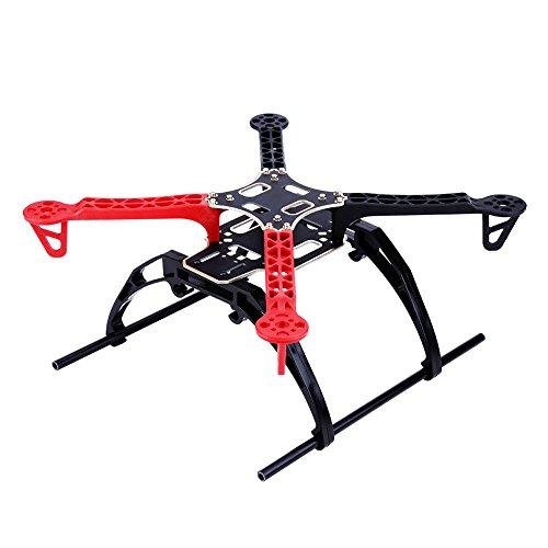 Cuadro Quadcopter, Kit de Cuadro Drone Racing Aircraft de 33 cm Mini Quad Quadcopter Accesorio Tablero CB Integrado P