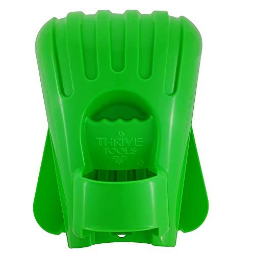 Thrive Tools Leaf Scoops: Large Rake Hands for Scooping Grass Clippings and Lawn Debris: 1 Set is 2 Hand Rakes