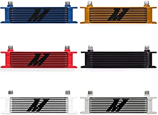 Mishimoto MMOC-10RD Red Universal 10 Row Oil Cooler