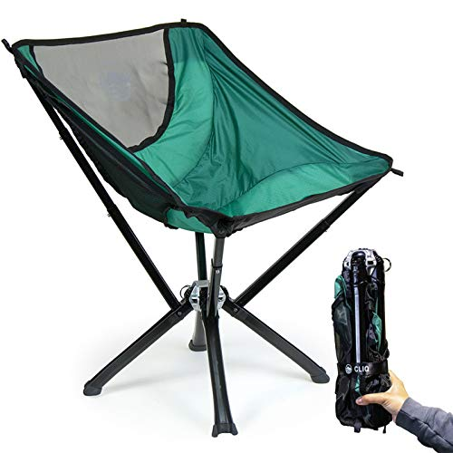 CLIQ Camping Chairs - Most Funded Camping Chair in Crowdfunding History. | Bottle Sized Compact...