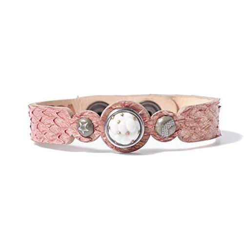 Noosa Amsterdam Ladies 'Bracelet Leather Pink WPCS 909098S pink
