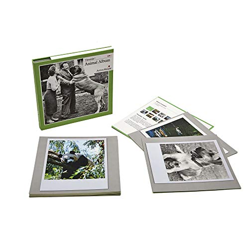 Active Minds Animals Reminiscence Card Album | Specialist Alzheimer's/Dementia Memory Promoting Activity w/ 15 Images