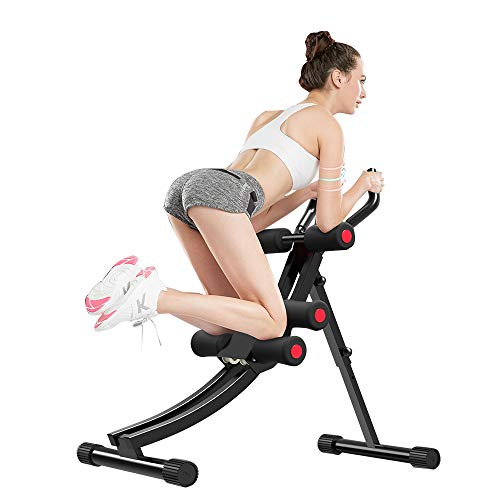 Product Image 4: Fitlaya Fitness Core & Abdominal Trainers AB Workout Machine Home Gym Strength Training Ab Cruncher Foldable Fitness Equipment