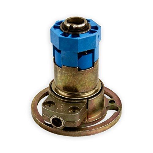 DIWARO K018 Rolladengetriebe 3:1 links, Kurbelgetriebe, Kegelradgetriebe für SW 40 Rolladen Stahlwelle im Rolladenkasten