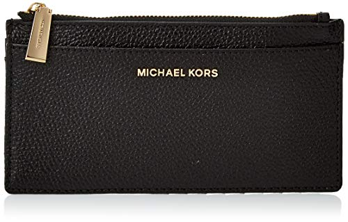 MICHAEL by Michael Kors Money Pieces Karten Etui Schwarz Leder Damen uni Schwarz