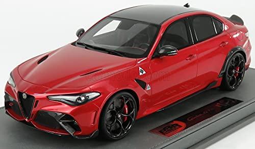 BBR-MODELS 1/18 ALFA Romeo Giulia GTA 2016 Rosso GTA - RED MET BBRC1851A-VET