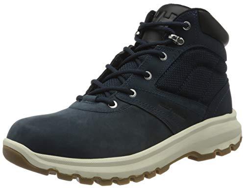 Helly Hansen Montreal V2, Chaussures de Randonnée Hautes Homme, Multicolore (Navy/Jet Black/Angora 598), 44 EU