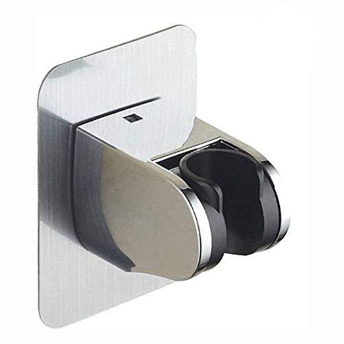 El soporte de ducha portátil YFOX sin taladro y el soporte de pared ajustable con soporte de ducha 3M montado de forma viscosa pueden soportar un peso máximo de 15 kg
