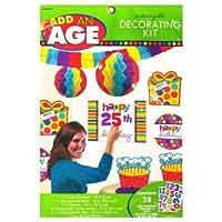 お誕生日を彩るデコレーション バースデードット デコキット 10入 248563 〈簡易梱包