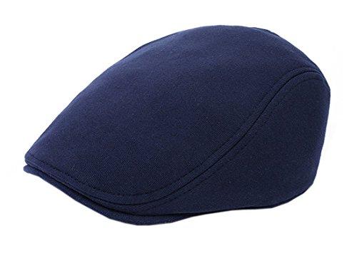 Luck Enfant Fille Garçon Chapeau Cap Golf Driving Duckbill Casual (Bleu Marine)