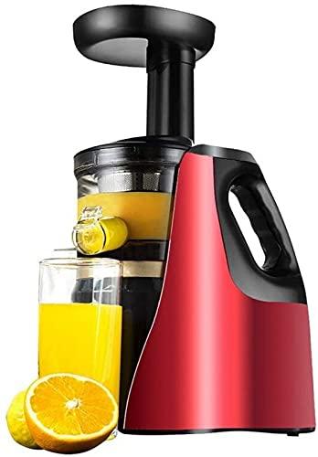 ZJDM Exprimidor Exprimidor Lento Licuadora de Leche de Frutas Extractor de Jugo eléctrico para el hogar Exprimidor de Frutas para el Cuerpo