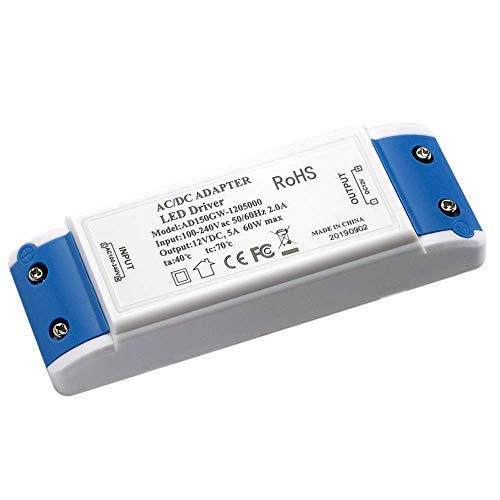 LED Transformador LED Driver 60W Power supply conductor