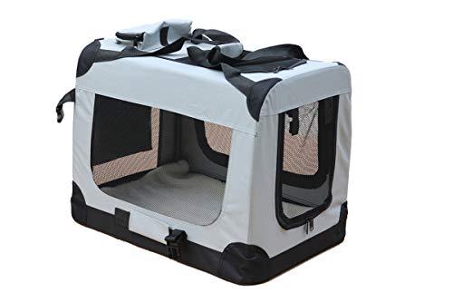 Mobiclinic, Transportín para Mascotas (Perros, Gatos, Conejos, Hurones, Chinchillas), Balú, Talla M,...