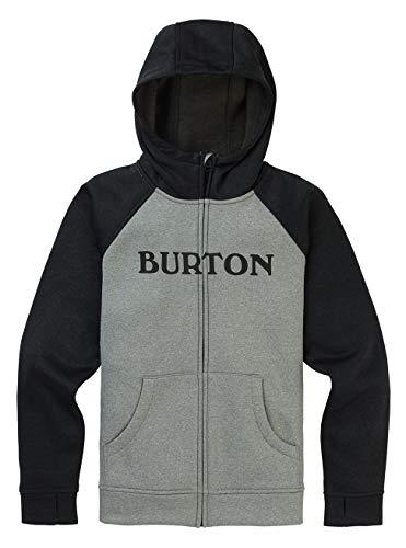 Burton Jungen Oak Fleece Pullover, Gray Heather, M