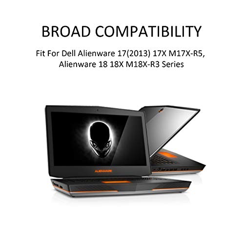 K KYUER 14.8V 86Wh 5700mAh 2F8K3 Laptop Akku für Dell Alienware 17 R1 17X M17X R5 Alienware 18 R1 18X M18X R3 Series Gaming Laptop 02F8K3 KJ2PX 0KJ2PX G33TT 0G33TT 0NU209 451-BBCB Notebook Batterie