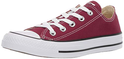 Converse Chuck Taylor All Star, Sneakers Unisex - Adulto, Rosso (Bordeaux), 41 EU