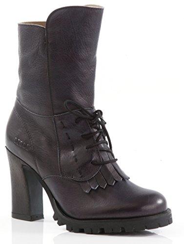 dkode PANGARI Damen Biker Stiefel Boots Stiefelette (39)