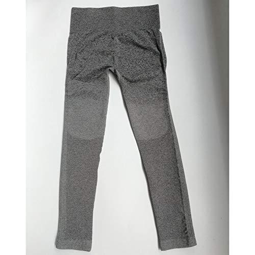 YSDSBM Mujeres Deportes Gimnasio Yoga Pantalones Medias de compresión Pantalones sin Costuras Pantalones elásticos de Cintura Alta Correr Fitness Leggings Hip Push Up