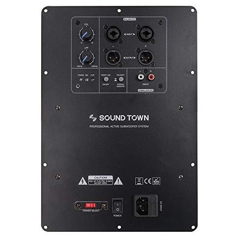 Sound Town Class-D Plate Amplifier for PA DJ Subwoofer Cabinets, 350W RMS, w/LPF (STPAS-600D)