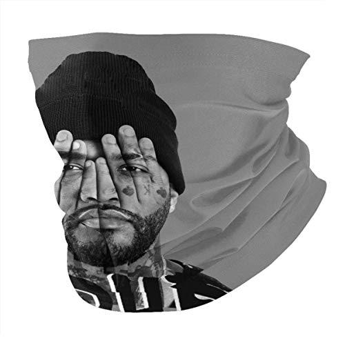 Playboi Car-ti - Pañuelo unisex con forro polar elástico para snowboard y deportes de invierno, color negro