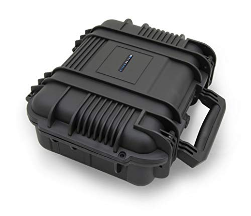 Check Out This Casematix Elite Rugged Audio Equipment Case with Foam Compatible with Roland MC-101, ...