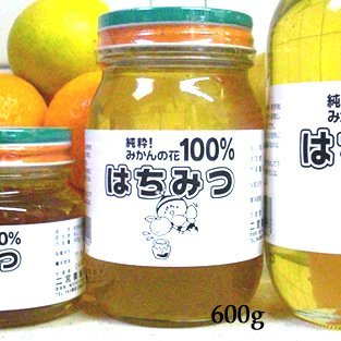 二宮養蜂農園 2019年度産愛媛みかんの花100%はちみつ(600g) B01GFARNA8 1枚目