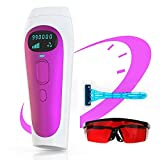 IPL Hair Removal for Women and Men Permanent Painless Laser Hair Removal System 999,900 Flashes at-Home Hair Remover Treatment for Whole Body 2 Modes 5 Levels